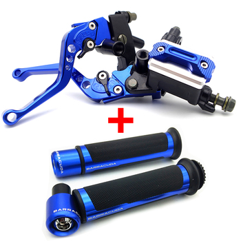 FOR Honda vtx 1300 twister 250 cbr 600 f4i shadow 750 7/8``22mm Motorcycle handlebar hydraulic brake pump clutch handle image