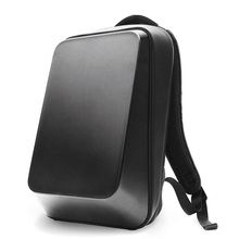BEABORN Hard Shell Men Women Multifuntion Black Shoulder Bag 15.6 inch Laptop Backpack Teenager Waterproof Travel Bags Mochilas