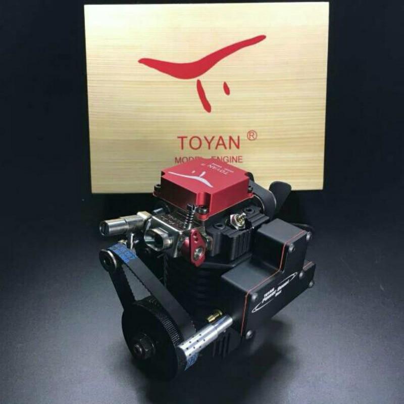 FS-S100 Four-stroke Methanol Model Engine Hi-tech Birthday Gift