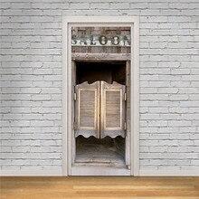 Наклейка на дверь для бара, магазина, вечерние наклейки, съемные стеклянные двери, бытовая настенная палочка, реквизит, украшение для дома