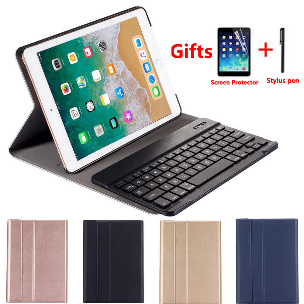 Klavye Kılıf Apple iPad 9.7 2018 6th Nesil A1893 A1954 2017 5th A1822 A1823 Hava A1474 A1475 Hava 2 a1566 A1567 Pro 9.7