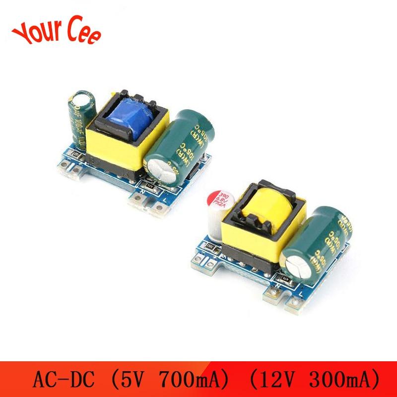 AC-DC 5V 700mA 12V 300mA 3,5 W изолированный модуль источника питания, понижающий преобразователь, понижающий модуль 220V turn 5V/12V