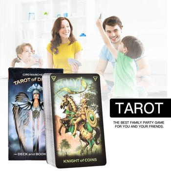 78Sheets Tarot Of Dreams Board Game Cards Boxes For Party Table Deck Games Playing Cards Family Entertainment карты таро u s games systems мечты гайи dreams of gaia tarot