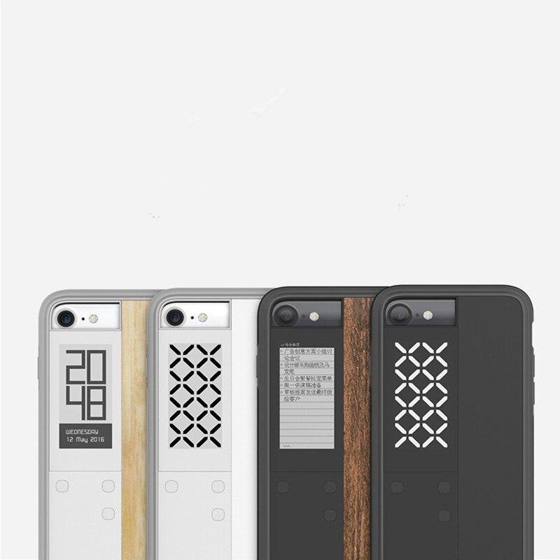 Умный чернильный экран чехол для iPhone 7, E ink Reader для iPhone 8/iPhone 7 ультратонкий цифровой чехол помощник с дисплеем E Ink