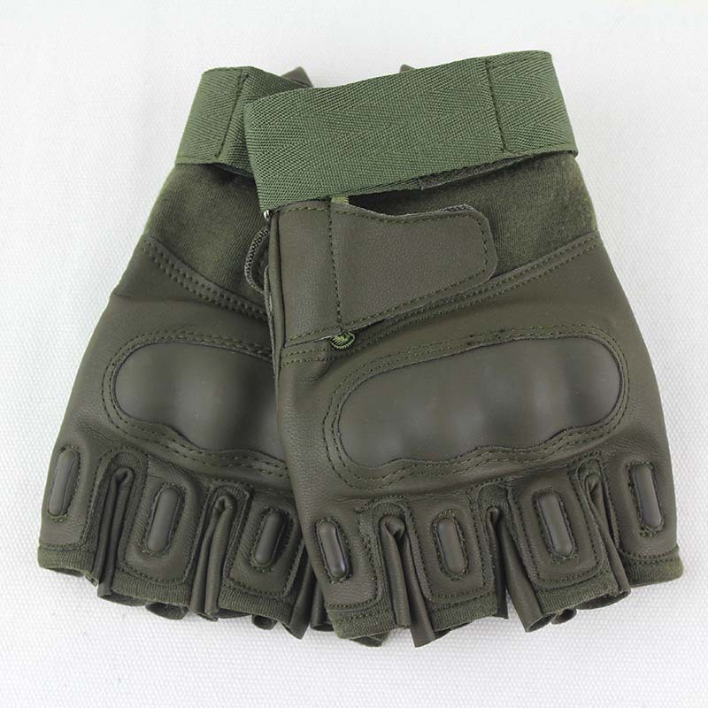 Outdoor Tactical Half-finger Gloves Cycling Sports Fitness Non-skid Gloves