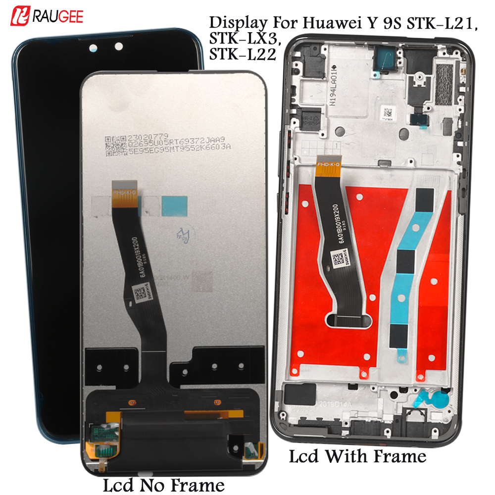 Display For Huawei Y9s Y 9s LCD Display Touch Screen Replacement For Huawei STK-L21, LX3, L22 Display Tested Lcd Touch Sensor