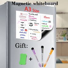 A3 Size 11.7 X 16.5in Magnetic Whiteboard Fridge Sticker Dry
