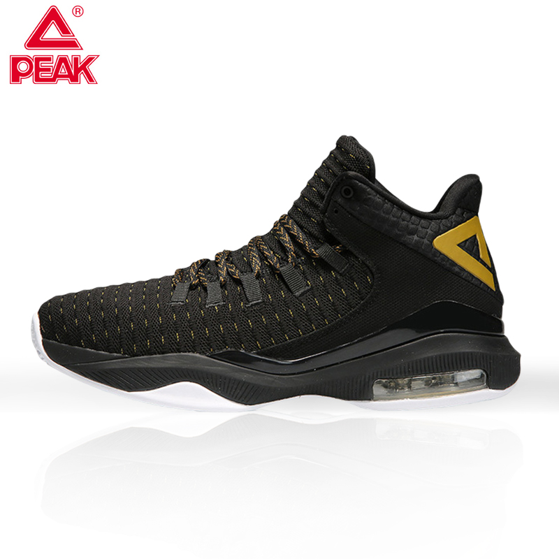 PEAK 2019 Male Professional Cushioning Basketball Footwear  Non slip Wearable Athletic Sport ShoesOutdoor Basketball Sneakers|Basketball Shoes| |  - title=
