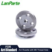 Lanparte Arri Rosette Teech adaptateur avec trou fileté M6 (PCS) des accessoires dappareil photo reflex numérique