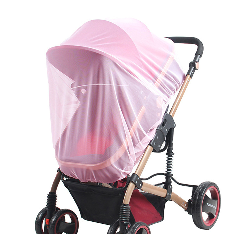 Baby Stroller Mosquito Net Infant Car Seats Insect Net Mosquito Repellent for Carriers Cradles Crib M09
