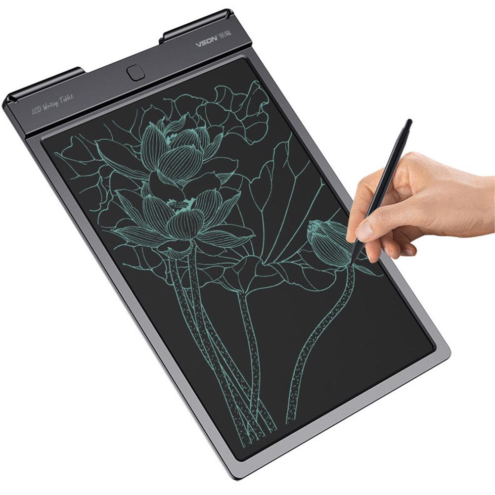 13inch LCD Writing Tablet Writing Board For Children Graffiti Drawing Office Electronic Light Energy Small Blackboard #CO