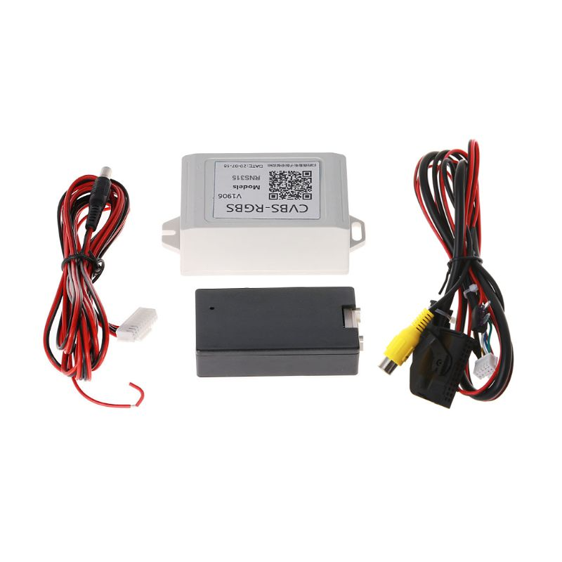 Car Backup Camera CVBS To RGBS Converter Adapter Decoder For RNS315 Auto Tools