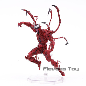 Image 5 - Marvel Revoltech Series NO.008 Carnage Deadpool Spiderman Gwen Stacy Venom Wolverine Magneto Captain America Action Figure Toy