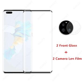 2 pezzi per Huawei Mate 40 Pro vetro per Huawei Mate 40 Pro Plus vetro temperato Mate 30 30e P40 Pro Plus pellicola salvaschermo Len