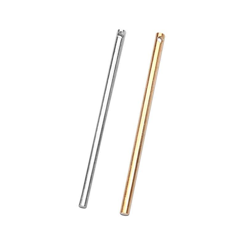 20 pces 30/40/50mm moda coppers branco k/rosa ouro pingente jóias descobertas charme pingente conector para diy jóias fazendo
