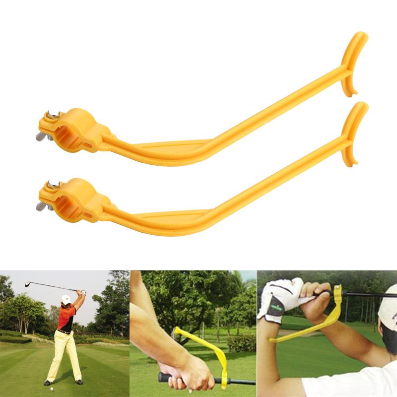 Golf-Accessories Alignment Golf-Swing-Trainer Practice-Guide Wrist Training Aids-Tools title=