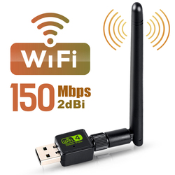 USB Wifi адаптер Ethernet Wi-Fi адаптер Wifi ключ MT7601 8188GU антенна WiFi сетевая карта Wi-Fi приемник Lan беспроводной адаптер