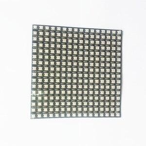 Image 4 - DC5V 16 × 16 WS2812B 256 ピクセルパネル個別にアドレス指定可能led柔軟なスクリーンマトリックスライト