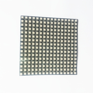 Image 4 - DC5V 16x16 WS2812B 256 Pixels panel Individually addressable led Flexible Screen Matrix light