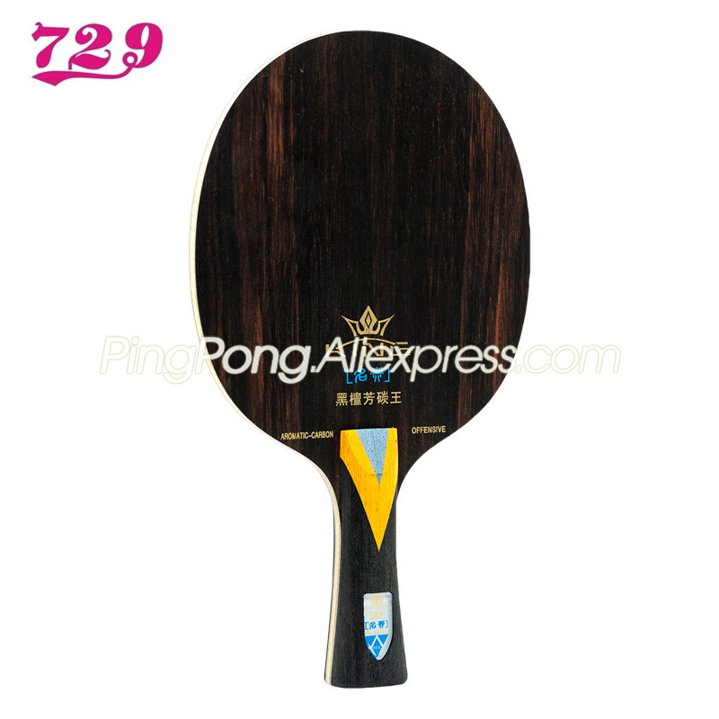 New Friendship 729 KING EBONY KLC Table Tennis Blade 729 Rosewood ALC Racket EBONY Ping Pong Bat / Paddle