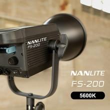 Nanlite FS 200 LED Strobe Light 5600K Professional Photography Outdoor Monolight Nanguang FS200 Studio Light Lamp