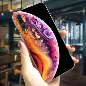 Earth Mars Saturn Planet Phone Cover for Huawei Honor 8 Lite Case 6A 7A 9/10 Lite View 20 Pro 9X Pro Y6 Y7 Y9 Nova 3/3i/4/5i image