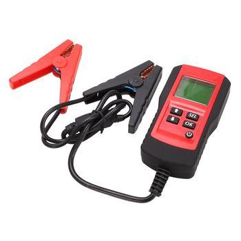 Digitale 12V Auto Batterij Tester Automotive Batterij Load Tester en Analyzer Batterijduur Percentage, Spanning, weerstand en CC-in Batterij testers van Gereedschap op