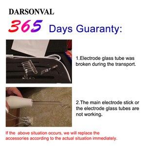 Image 5 - KLASVSA Darsonval תדירות גבוהה פנים אנטי אייג ינג לעיסוי מקל אלקטרו מכונת אלקטרודה שרביט 4 צינור אקנה Remover