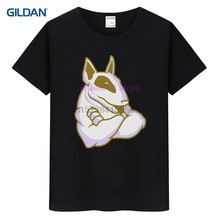 Nuovo Design Tee Shirt 2020 Inglese Bull Terrier Amante Del Cane Pet Regalo Presente Hanno Made Sito Web per T-Shirt cotone(China)