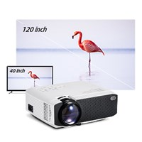 AUN MINI Projector D50/s|Android WIFI 4K Projector (X96Q)|Full HD 1080P Support 3D Home Cinema|Optional Phone Projector