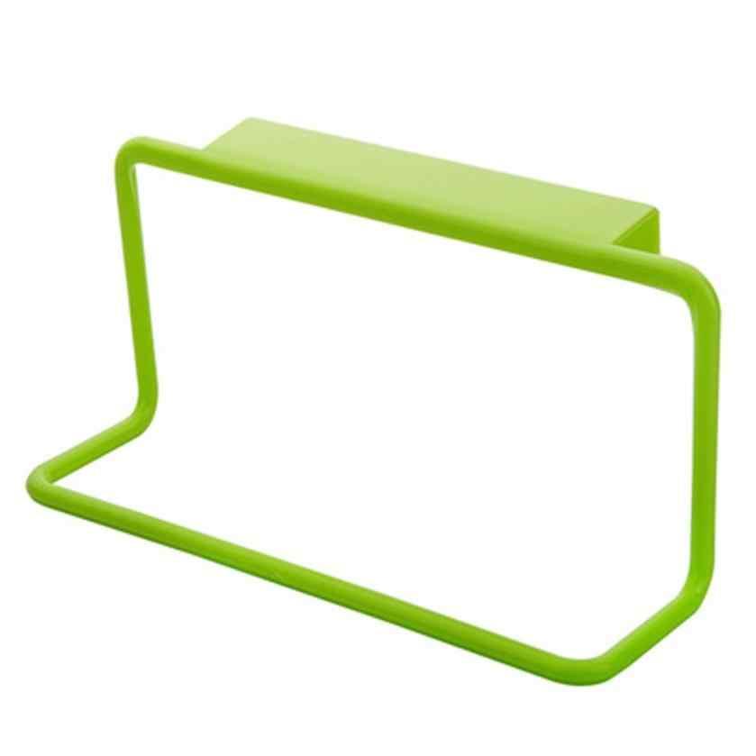 Support de porte-serviette suspendu porte-serviette | Organiseur de cuisine porte-serviettes suspendu porte arrière de porte Style suspendu, poubelle sacs à ordures, monture de support