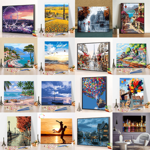 Wonderful Imaginary DIY Painting By Numbers Kits Coloring By Numbers Unique Gift Home Wall Art Decor 40x50 Artwork