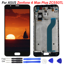 Original For Asus ZC550TL LCD Display Touch Screen Digitizer Assembl For ASUS Zenfone 4 Max Plus ZC550TL LCD Frame X015D Replace original for asus zc550tl lcd display touch screen digitizer assembl for asus zenfone 4 max plus zc550tl lcd frame x015d replace