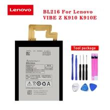20pcs/lot Original Battery BL216 For Lenovo Vibe Z K910 K910E High Quality Phone Batteria In Stock With Repair Tools 3000mAh original 20pcs lot rclamp0524j tct 0524j slp2710p8 in stock