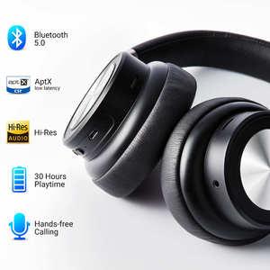 Image 2 - Nuovo Langsdom BT30 aptX BASSA LATENZA Senza Fili Cuffie Bluetooth aptx hd 5.0 Bass Gaming Headset fone de ouvido per la TV PC PUBG