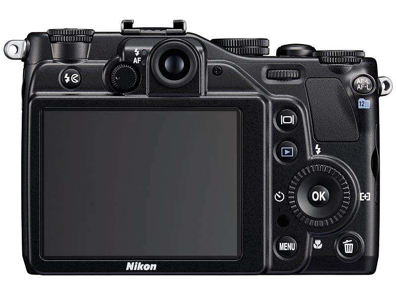 USED Nikon Coolpix P7000 10.1 MP Digital Camera With 7.1x Wide Zoom-Nikkor ED Lens And 3-Inch LCD