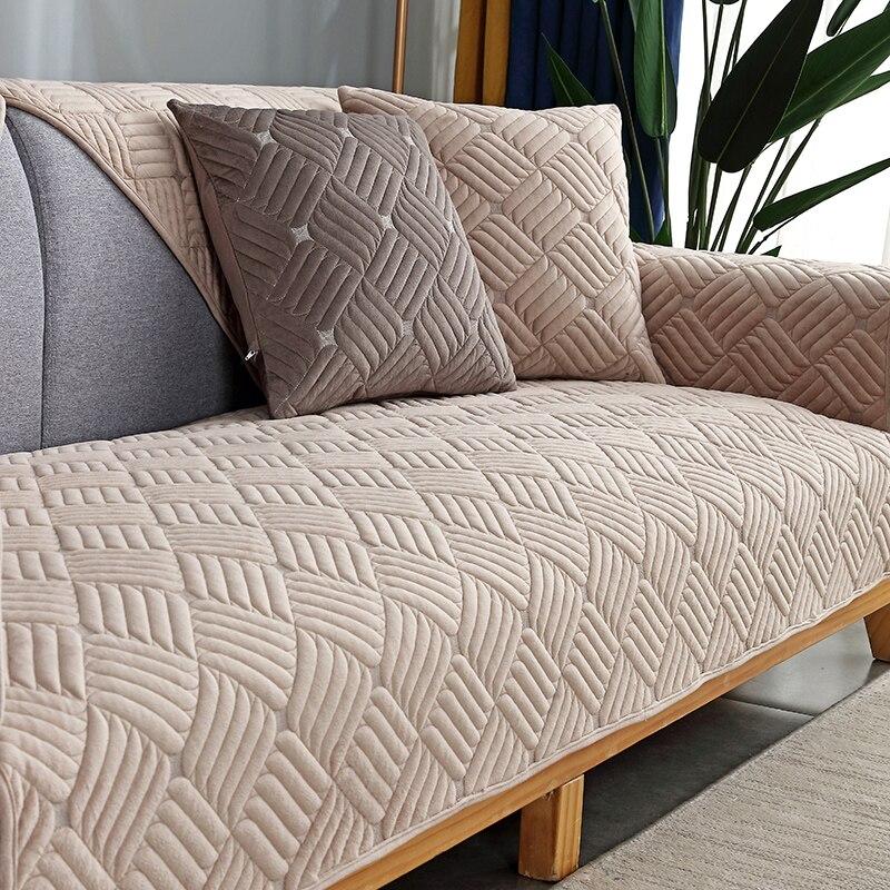Купить modern minimalist sectional sofa cover armchair solid color