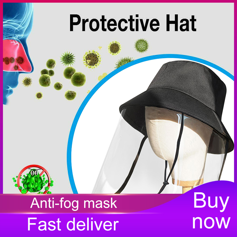 Anti-Saliva Droplets Hat,Unisex Protective Hat,Eye Protection,Isolation Hood To Protect The Whole Face,Sun UV Protection Outdoor