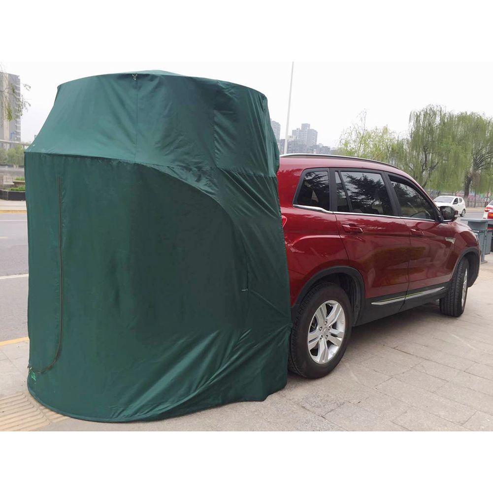 Equipo de exterior para techo trasero de coche, toldo para tienda de campaña, toldo trasero para Picnic, toldo sin ventana para Porsche Audi BMW solo para SUV