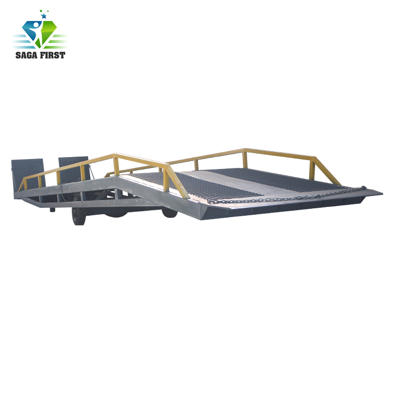 China high quality mobile loading unloading container yard ramp low price