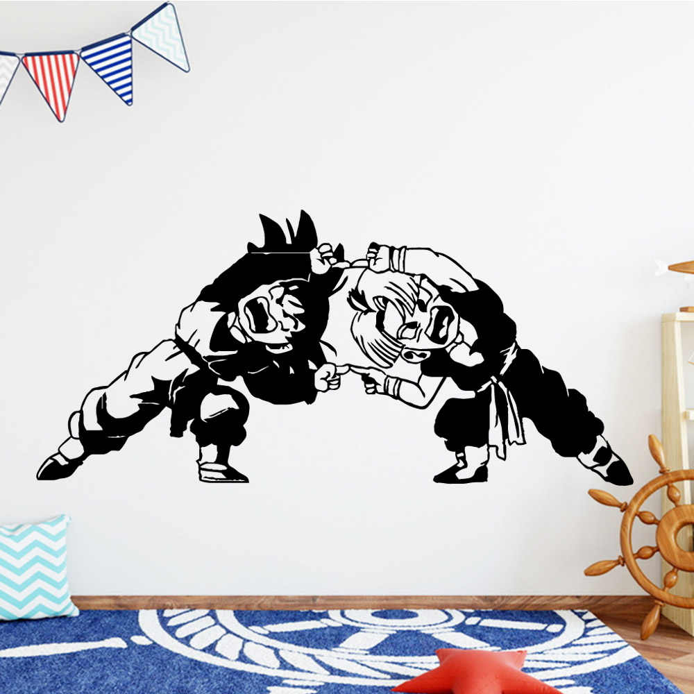 Cartoon Dragon Ball Muurstickers Dier Thuis Decoratie Voor Baby Kids Kamers Decor Muurschildering Custom Vinilo Decorativo