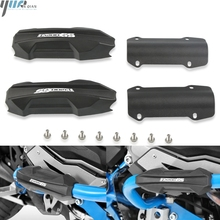 25mm Motorcycle Engine Guard Bumper Protection Decorative Block Crash Bar For BMW R1200GS R 1200 GS ADV 2007-2013 R1200RT/RS motorcycle one set of frame protector upper lower crash bar engine tank guard bumper for bmw r1200gs r 1200 gs 1200gs 2007 2012