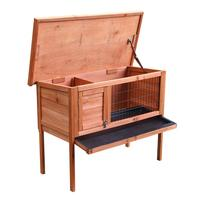 36inch Single Deck Waterproof Wooden Chicken Coop Hen House Pet Animal Poultry Cage Rabbit Hutch Natura