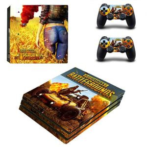 Image 5 - Game PUBG PS4 Pro Sticker Play station 4 Skin Sticker Decals For PlayStation 4 PS4 Pro Console & Controller Skins Vinyl