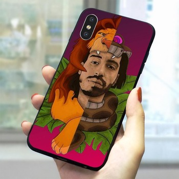 Coque PNL Rappeur iphone 6 Plus 5 5S SE 7 8 Plus Xs Max XR X 11