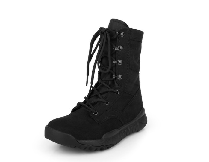 Promo Ultra Light 07 Operational Boots Men's Canvas Operational Shock Absorbing Tactical Boots for High Help Special Forces