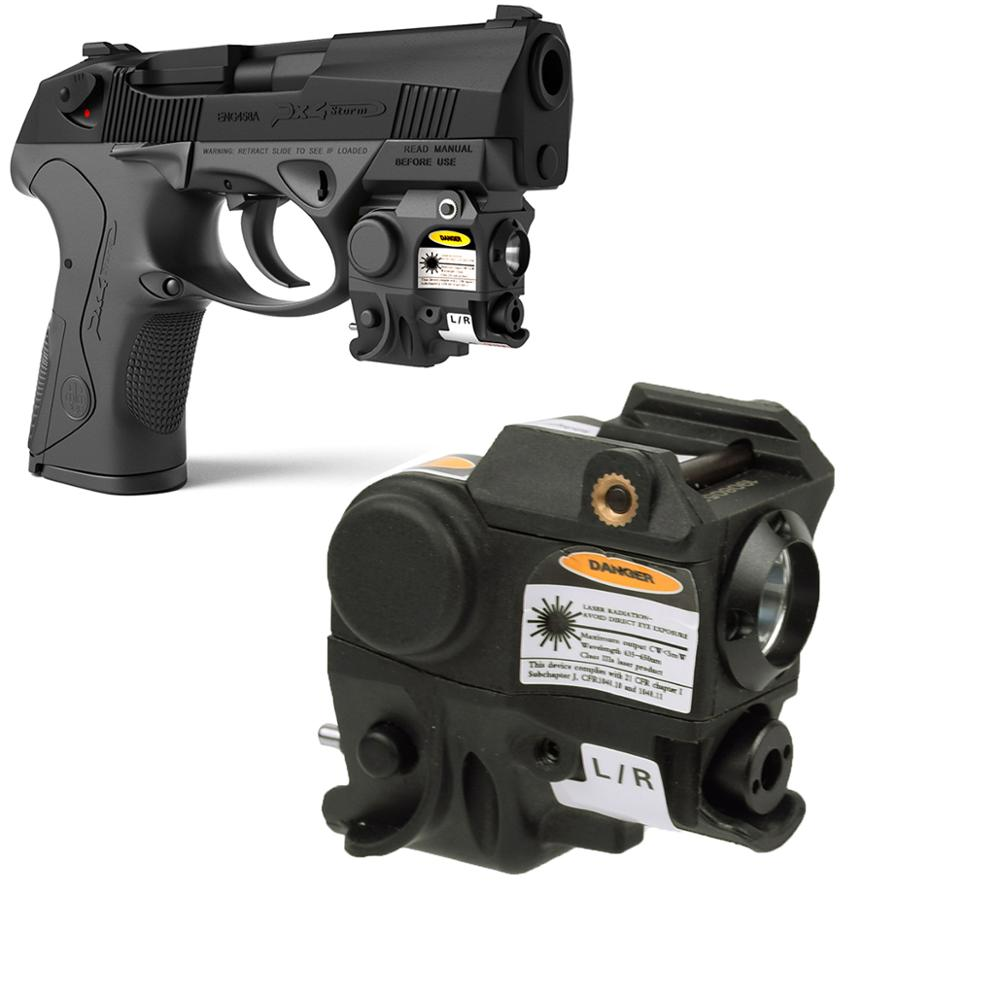 Tactical Beretta PX4 Compact Pistol Laser Light Combo Ruger SR9C Walther PPQ CZ 75 Handgun Air Guns Laser Sight Scope