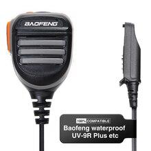 Baofeng UV 9R Plus Waterdichte Schouder Speaker Microfoon Voor Baofeng UV XR/ UV 9R Plus/Pro/Tijdperk BF 9700 A 58 Rainroof ham Radio
