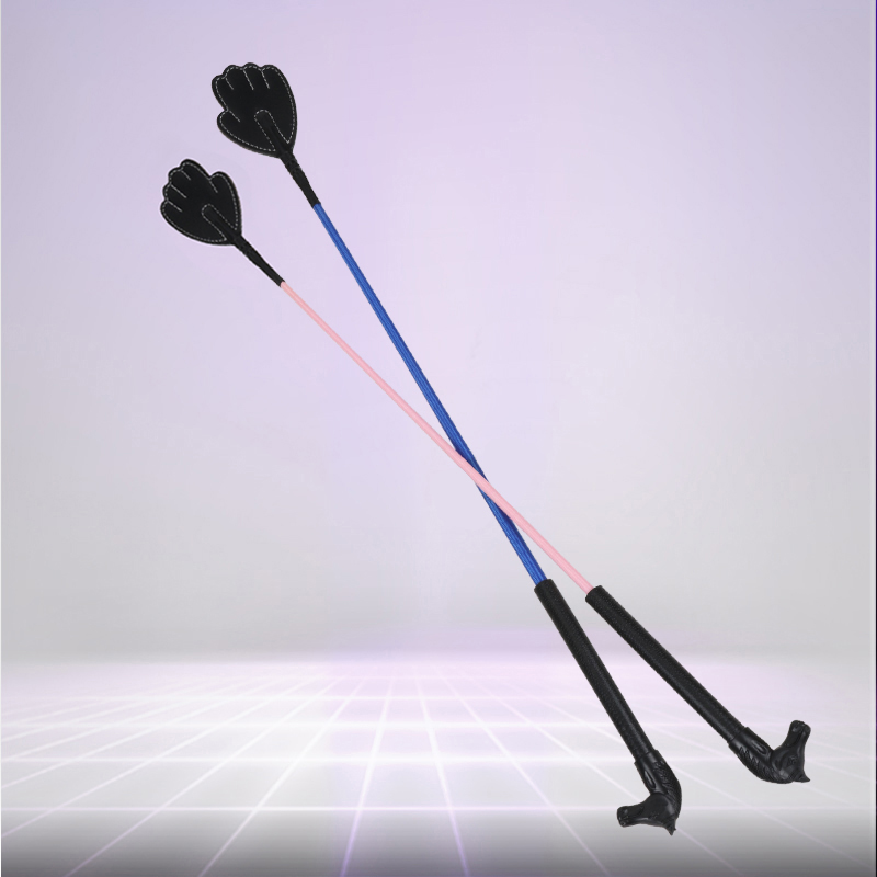 Professional Children Horse Whip Comfort Non-slip Handle Riding Crop Horses Racing Equipment Equestrian Supplies Whips For Kids