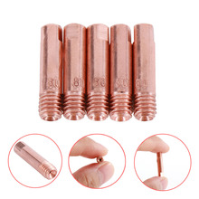 15AK Contact Tip 5pcs MIG/MAG Welding Torch Gun Consumables 0.6mm Available M6x25mm for the MIG Welding